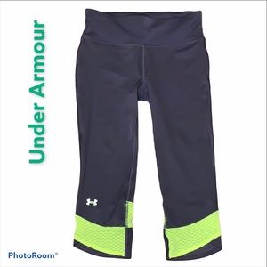 Under Armour 3/4 leggings  size small